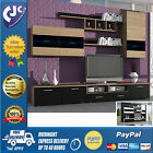 6 Piece Living Room Set -TV unit/stand/cabinet/cupboard, floating wall cabinets