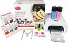 Classy Nails UV Gel Nail Starter Kit - With Classy Nails Lamp & Shellac Wraps