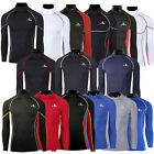 Mens Boys Compression Body Armour Base Layer Thermal Under Top Shirt Skins Long