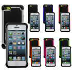 New Defender Dual Layer Hard Silicone Case Cover Shock Proof For Apple iPhone 5C