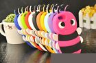 CUTE 3D BEE SOFT SILICON COVER CASE BACK SKIN FOR APPLE IPHONE 5 5G 5S NEW UK