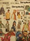 1 NEW SEWING PATTERN -YOU CHOOSE MENS WOMENS HAT SCARF GLOVES VEST JACKET PONCHO
