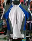Campagnolo Raytech C528 3/4 zip jersey White/Lake Medium