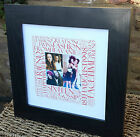 Personalised Birthday Picture 'Square' Word Art Gift18th 21st 30th 40th 50th etc