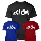 APE HUMAN TRACTOR EVOLUTION Funny Gift T-shirt S-XXL Present, many colours Man