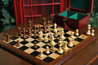 The Superior Grandmaster Chess Set,  Box,  & Board Combination