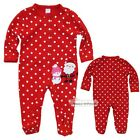 0-12M Newborn Baby Girl Long Sleeve Christmas Jumpsuit Romper Climbing Clothes