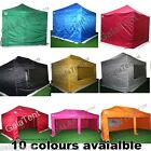 SET OF 4 POP UP COMMERCIAL GRADE GAZEBO SIDEWALLS PANELS + CARRY BAG