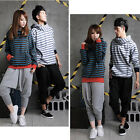 Women Men Unisex Casual Harem Hip Hop Pants Baggy Dance Sport Sweat Trousers SML