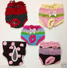 Dog Panties Pants -Cute Colors & Styles Hole for Tail - Up to 22lb Dog CLEARANCE