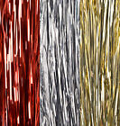 Christmas Decoration 500 Strands LAMETTA - White, Black, Gold, Red or Silver
