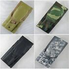 New Velcro Molle Universal Walkie-talkie Pouch 6 Color--Airsoft
