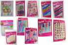 Barbie Birthday Party Favors Prizes Pencil Sharpeners Necklace Nail Stickers etc