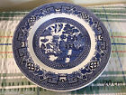 Swinnertons Pottery Old Willow Pattern Dinner Salad Side Plate,  Bowl Dish ~ h428