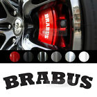 "Universal All Vehicle ""Brabus"" Racing Sports Decal Sticker 6 Color 2.75""x0.57"""