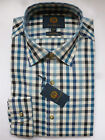 Viyella Shirt -100% Cotton Blue Club Check