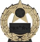 """4.5"""" Mega Star Trophy in 3 Colors with Free Engraving up to 30 Letters"""