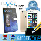 """NUGLAS Tempered Glass Screen protector for Apple iPhone 6 6S Plus 4.7"""" 5.5"""""""