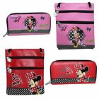 Disney Minnie Mouse Zip Fashion Shoulder Bag OR Purse - Red or Pink