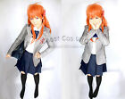 Monthly Girls' Nozaki-kun Chiyo Sakura Cosplay Costume Kostüm Uniform Perücke