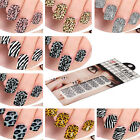 12 Style Selection Nail Art Sticker Foils Design Decoration Tips Decals New