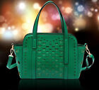 New Green Sexy Heart Hollow-out Handbag Ladies Shoulder Bags Totes Messenger