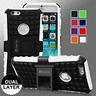 "Rugged Dual Layer Shock Proof KickStand Case Cover for iPhone 6/6 Plus 4.7"" 5.5"""