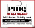 50 PMG. P-715 Perfect Blob Fly Hook