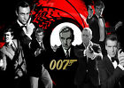 JAMES BOND MOVIE COLLECTION WALL ART - ONE PIECE POSTER (A1 - A5 SIZES) £8.95 GBP