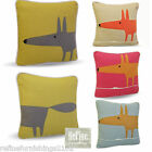 """MR FOX by SCION (Harlequin) Piped 12"""" (30cm) Square Cushion Cover"""