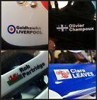 Personalised bike frame/helmet Name Stickers Decals + Flag. The BEST & ORIGINAL