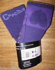 Cupcake by Pure Kids baby girl purple cotton tights BNWT 12-18 m Danish