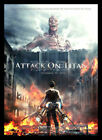 Attack on Titan FRIDGE MAGNET 6x8 Large Japanese Anime Magnetic Movies Poster
