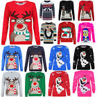 LADIES WOMENS MENS UNISEX KIDS XMAS CHRISTMAS T SHIRT JUMPER SWEATER FAIRISLE