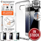 Genuine Spigen Ultra Hybrid Soft Bumper+Hard Case for Samsung Galaxy Note 4