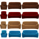 Super Fit All Color All Sizes Stretch Sofa Cover Protector Chair Couch Slipcover
