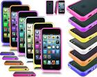 FOR APPLE IPHONE 6 4.7 PLUS 5.5 NEW BUMPER HARD GEL CASE COVER + SCREEN GUARD
