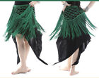 New 2014 Belly Dancing Costume  Hip Scarf Wrap Belt Tassels Knitted Triangle