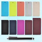 Nice feel Slim Flip Air wire drawing Case Cover For Apple iPhone 6/6 Plus+Stylus