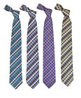 Hashed Microfiber Poly Woven Tie (MPW5237)