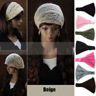Hot Stylish Bandanas Lace Head Wraps Women Lady Girls Wide Headband Accessories