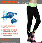 Homma Sports Stretch Womens Workout Running Pants Fitness Long Legging Yoga