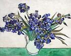 Vincent Van Gogh Irises Canvas Wall Art Poster Print Painting Artist Flowers