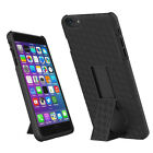 Hard Shell Plaid/Striped Case Holster Combo Belt CLIP Stand For iPhone 6 Plus BS