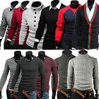 2014 Various Mens Casual Knitted Cardigan Jumper Pullover Sweats Hoodie Sweaters