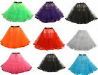 "New 23"" long Vtg 1950s PinUp Rockabilly Stiff Net Rock'n'Roll  Petticoat Skirt"