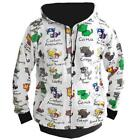 "AVENGERS KITTY CAT ""MEOW"" ZIP UP HOODIE NEW"