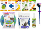 PETSTAGES CAT PET KITTEN TOYS DENTAL CATNIP MICE MINTY TOY STICKS FREE POSTAGE