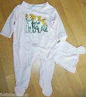 Paul & Joe baby girl romper & hat set babygro outfit 3-6, 9-12 m BNWT designer