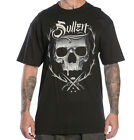 SULLEN THRONE BADGE TATTOO SKULL DESIGN T SHIRT S M L XL XXL ROCK BIKER PUNK